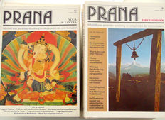 Spirituality; Lot with 45 issues of the magazine for spiritual expansion 'Prana' - 1977/1996