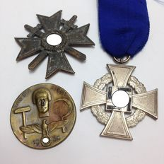 german Medal and badge group