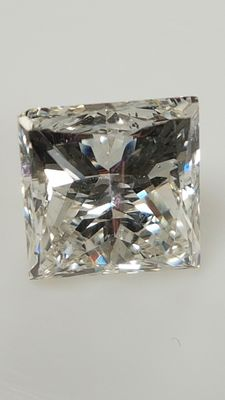 1.71 ct - Princess - F / VS1