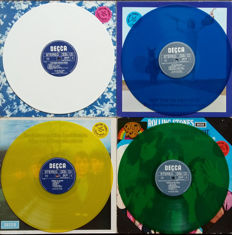 The Rolling Stones : 4 Limited Editions on  Coloured Lp Albums