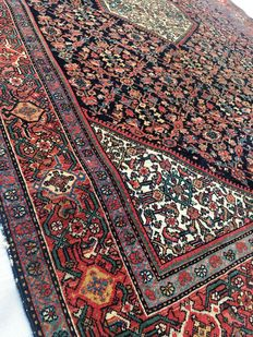 Beautiful Persian palace rug: Antique Sarough Feraghan 196 x 130 cm circa 1900!