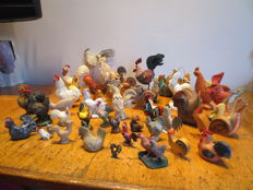 Very nice collection of cocks!