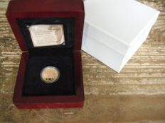 The Netherlands – ducat 2006,  Beatrix – gold in coffer.