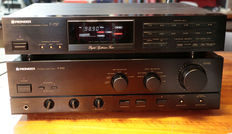 PIONEER AMPLIFIER AND TUNER A-445 AND F737