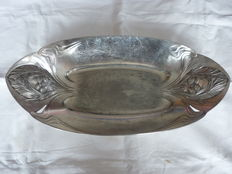 Gallia - Basket in silver metal - Art Nouveau