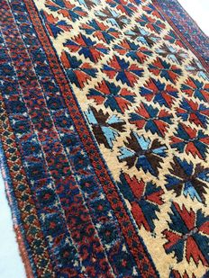 Remarkable Persian handmade rug: Beloutch 150 x105 cm, circa1900!!!!
