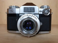 Zeiss Ikon Contaflex camera with original case-1959, Germany