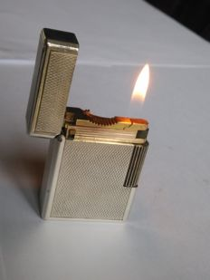 "Lighter S.T. Dupont lighter ""Line 1"" BS, silver plated"