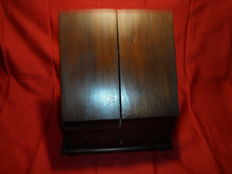 Oak handmade letterbox or notary cabinet