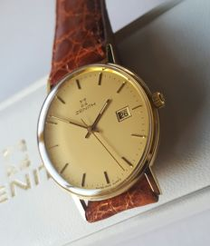Zenith Quartz Gold 9K - Mens Watch - Mint Condition