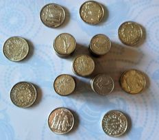 France - 5 & 10 Francs 1960/1970 (Lot of 60 coins) - Silver