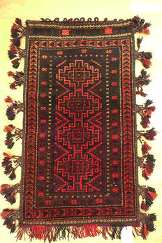 Authentic Afghan Beluchi  Juval circa 1990   108x68cm
