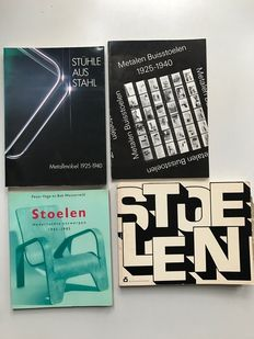 Chairs; Lot with 4 publications - 1975 / 1986
