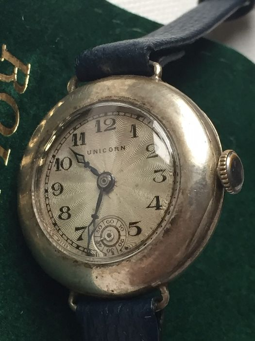 Rolex, Unicorn, c.1928 ,Vintage Watch,Ultrra Rear , Catawiki