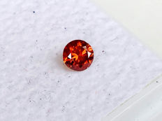 Red Diamond - Brilliant Cut - 0.26 ct - without reserve price