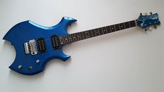 Tribute electric guitar with floyd rose system