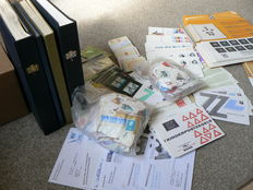 The Netherlands - Residual batch in box, with albums, stock books, child blocks, etc.