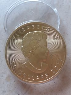 Canada – 50 Dollars 2015 'Maple Leaf' – 1 oz gold