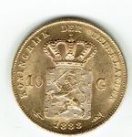 Check out our The Netherlands – 10 guilders 1888 William III of the Netherlands – Gold