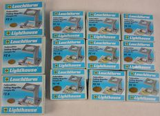Leuchtturm - Lot of 12 magnifying glasses/ linen testers
