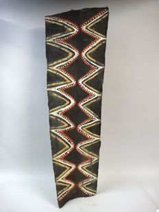 Washkuk roof panel of a men's house - Kwoma - Papua New Guinea