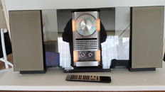 Bang & Olufsen BeoSystem 2500 with BeoLab 2500 speakers and BeoLink 1000 remote control.
