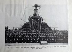 Admiral Viscount Jellicoe - The Grand Fleet 1914-16 - 1919