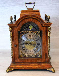 Wuba table clock with moon phase – 2nd half 20th century