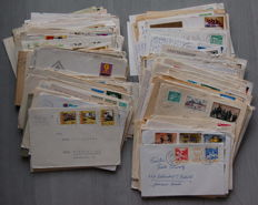 GDR of East Germany - 202 letters and postal items approx. 1960-1980