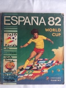Panini - World Cup 1982 Spain - Complete Album.