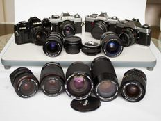 Minolta x-700, XG1, XG9, XG-M with MD mount lenses