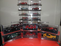 Ferrari Collection - Scale 1/43 - Lot with 20 models: 20 x Ferrari