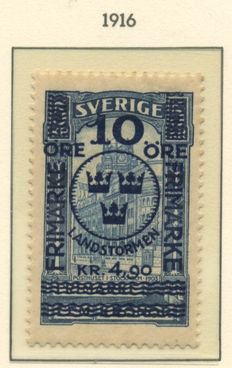 Sweden 1855/1939 – Collection on album sheets