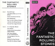 The Rolling Stones - The Fantastic Rolling Stones Music Cassette - Incredibly rare one-of-a-kind Stones item