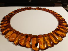 Necklace made of Baltic Amber, 54.32 g