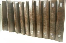 10 coin albums Overseas Territories 1890–1980 in the colour brown