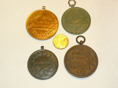 Hungarian Military medals are 1898-1938.