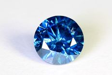 Blue diamond – 0.76 ct