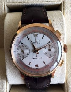 Eberhard and Co Extra Fort Monopusher chronograph - men's wristwatch