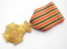 Belgium-WWI/WWII military medal First class