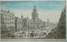 England, London; Daumont - La Bourse Royale a Londres - ca. 1760