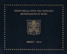 "Vatican - year pack/ year collection 2014, ""Franciscus I""."