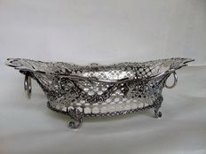 Silver bread basket, style Louis XVI, The Netherlands, late 19th century