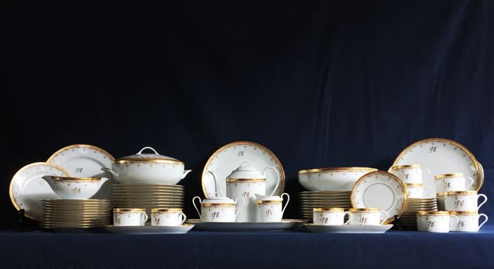 Expensive 12 people Limoges France Dinnerware & Expensive 12 people Limoges France Dinnerware - Catawiki