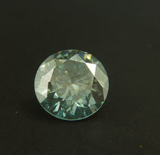 Blue Diamond of 0.61ct