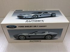 AUTOart - Scale 1/18 - Ford Shelby GR-1 Concept - Silver