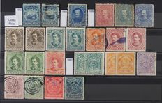 South / Central America - Collections in 4 stock books with stamps from, Brazil, Colombia and Paraguay, among others