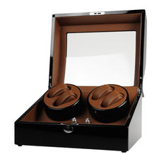 Premium watch winder for 4 automatic and 6 quartz watches