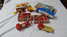 Classic - 331 + 332 + 375 + 378 - Dump Truck + Tow Truck + Refrigerator Truck and Trailer + Tractor