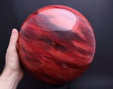 Strawberry Quartz - extra large sphere - 27.30cm - 23.35kg